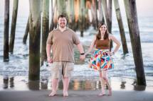 This was just one of our fabulous engagement photos at the Virginia Beach Oceanfront! This was taken by Amanda MacDiarmid, owner/operator of Stellar Exposures, July 2015.