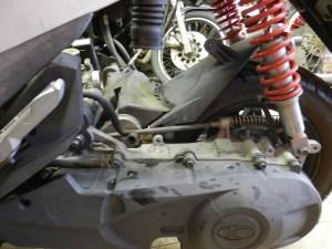 スターターでエンジンがかからない KYMCO