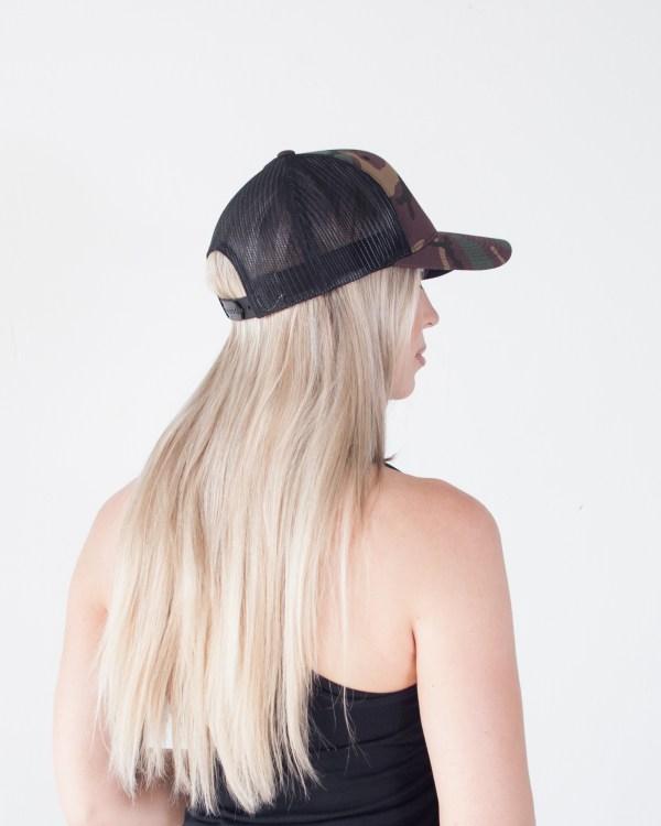 Hotshots Trucker Snapback Hat Camo