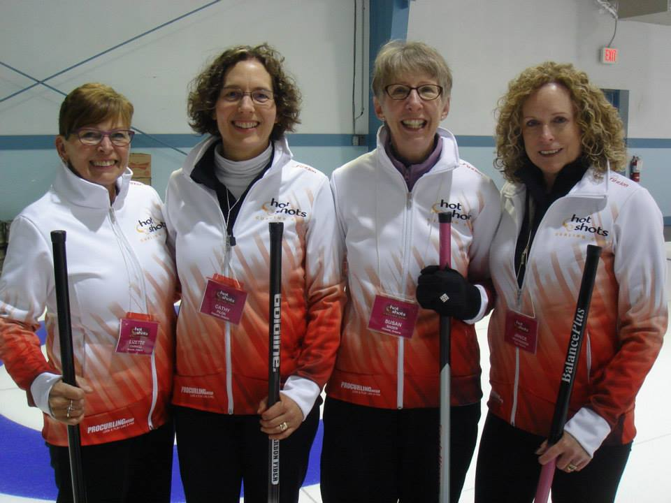 Campers 4 Ladies - Hot Shots Curling Camp