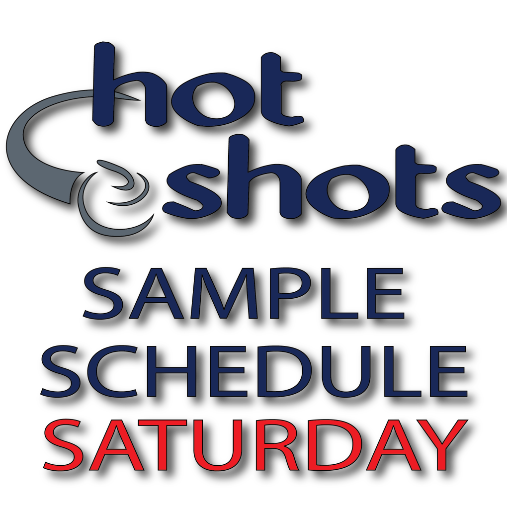 Sample Schedule Saturday - Hot Shots Curling Camp