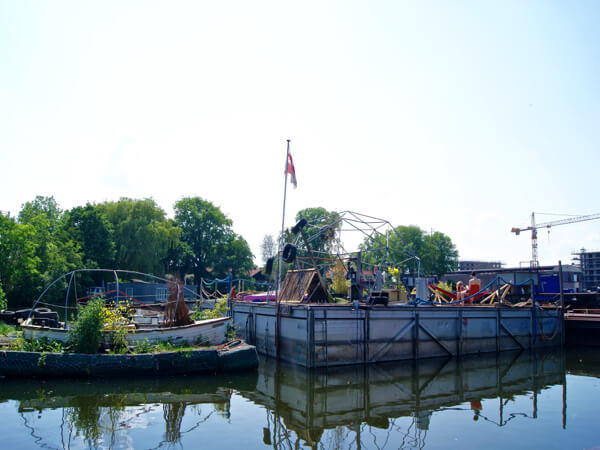 Hotspot De Ceuvel Amsterdam