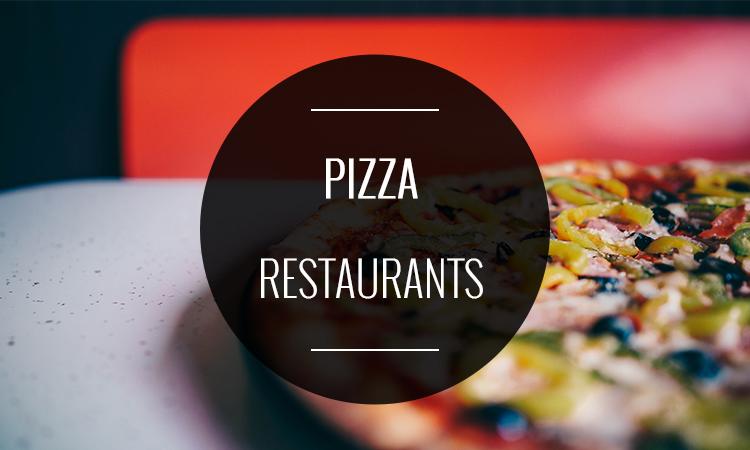 8 X RESTAURANTS OM EEN PIZZA TE ETEN OF TE BESTELLEN