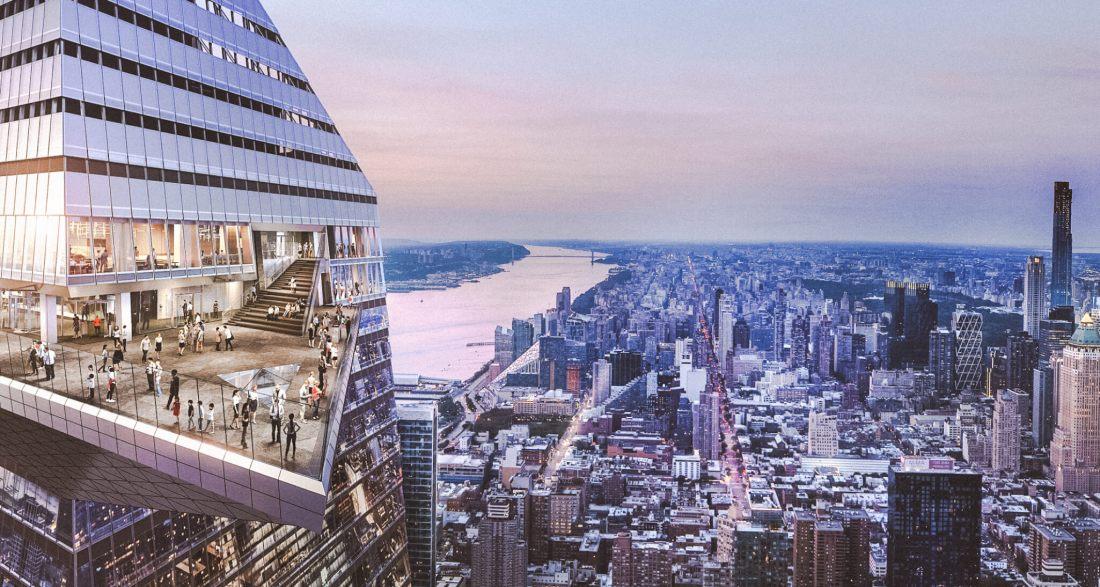 EDGE NEW YORK: COOLSTE EN HOOGSTE UITKIJKPUNT OPENT OP 325 HOOGTE