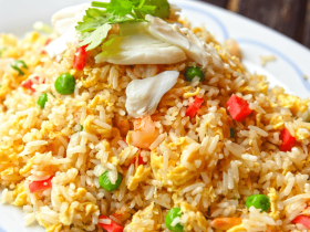 chinese style egg fried rice