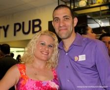 Brian paul and his wife Danielle