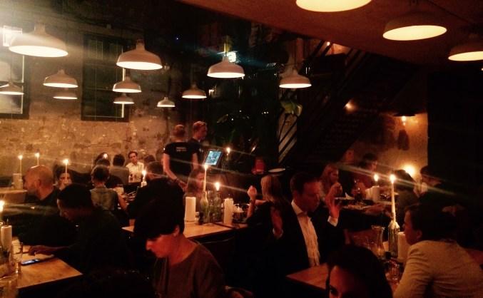 Restaurants Mossel en Gin Westerpark Amsterdam
