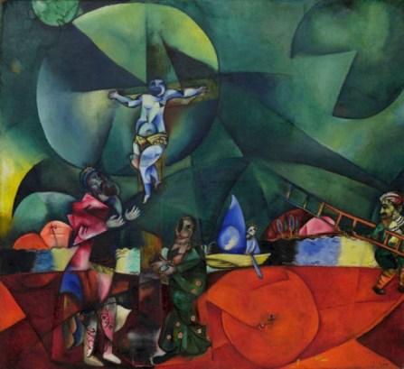 Calvary Marc Chagall Nieuwe Kerk Amsterdam
