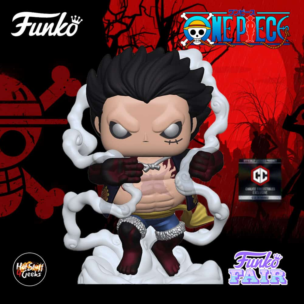 The action figure of luffy gear fourth (metallic), from the one piece franchise is a pop which will come out in january 2021. 2021 NEW One Piece - Luffy (Gear 4th) Funko Pop! Exclusive
