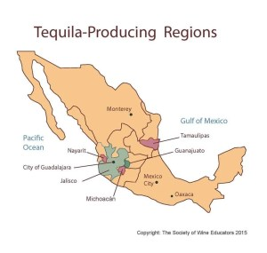 map of mex