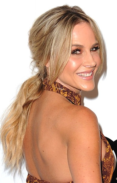 julie-benz-casual-straight-updo-hairstyle