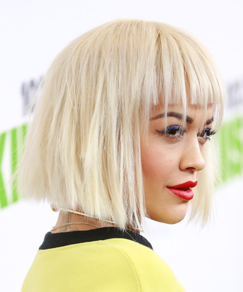 rita-ora-medium-straight-bob-hairstyle