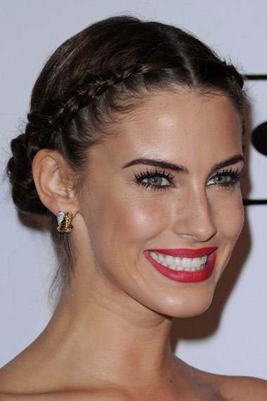 jessica-lowndes-updo-hairstyle