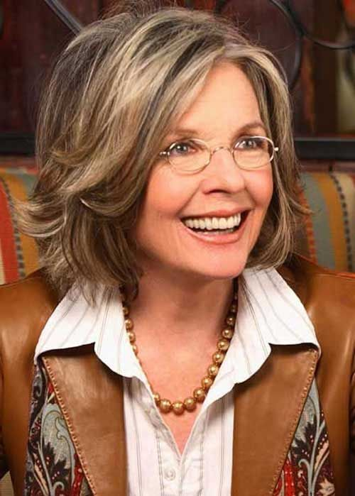 12 Most Flattering Hairstyles For Older Women - Haircuts ...