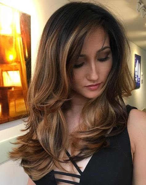 long-layered-brunette-hairstyle