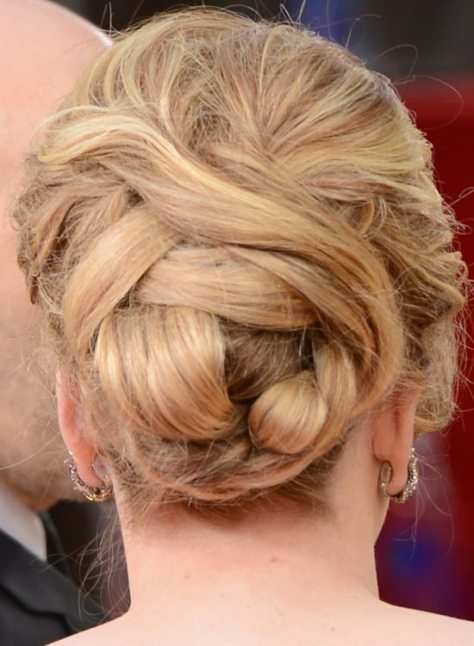 short hair tied up styles 25 simple and stunning updo hairstyles for curly hair 3293 | Voluminous Bun