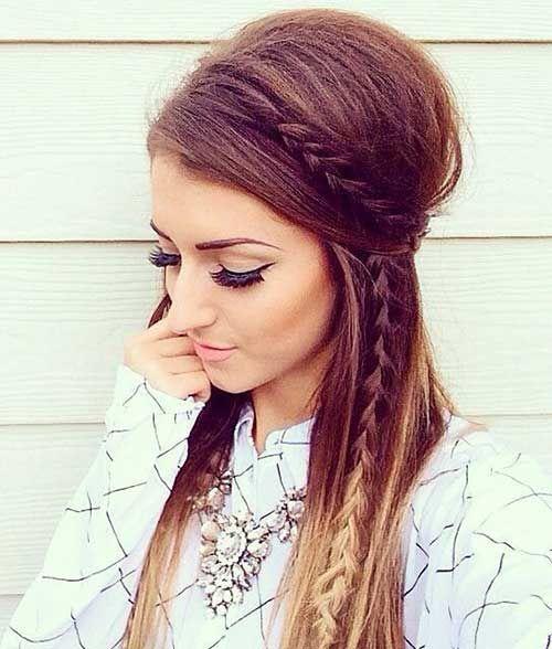 Boho Hairstyles for Long Hair
