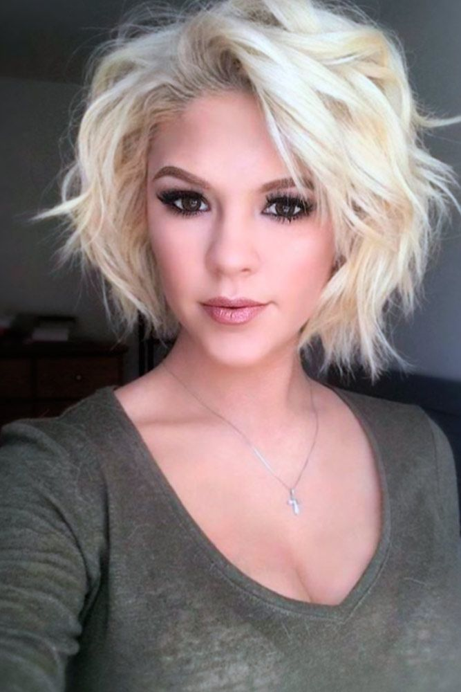 15 Best and Coolest Short Wavy Hairstyles Ever - Haircuts ...