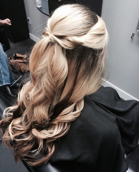 Curled Balayage Hairstyles