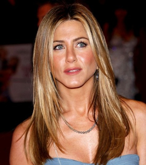 Jennifer Aniston's Long Layered Hairstyle