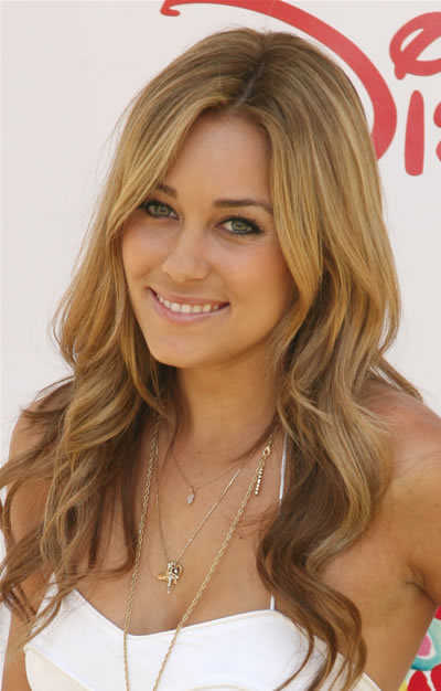 Lauren Conrad's Hairstyle with Curls