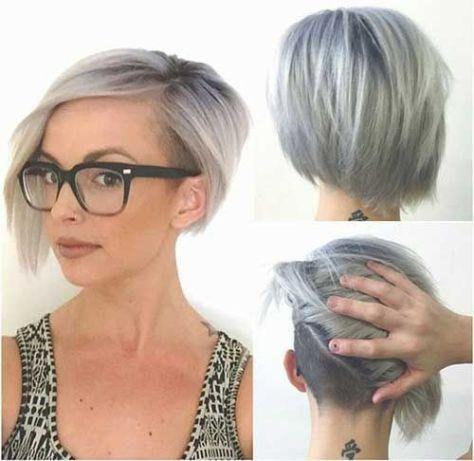Layered Undercut Bob Hairstyle