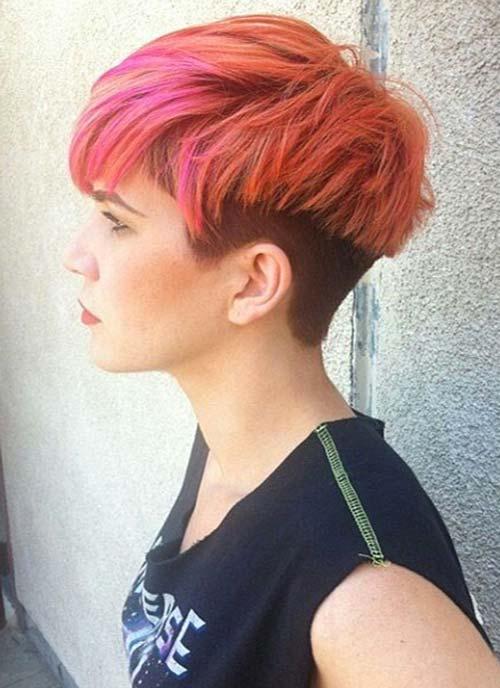 Short Hair with Undercut
