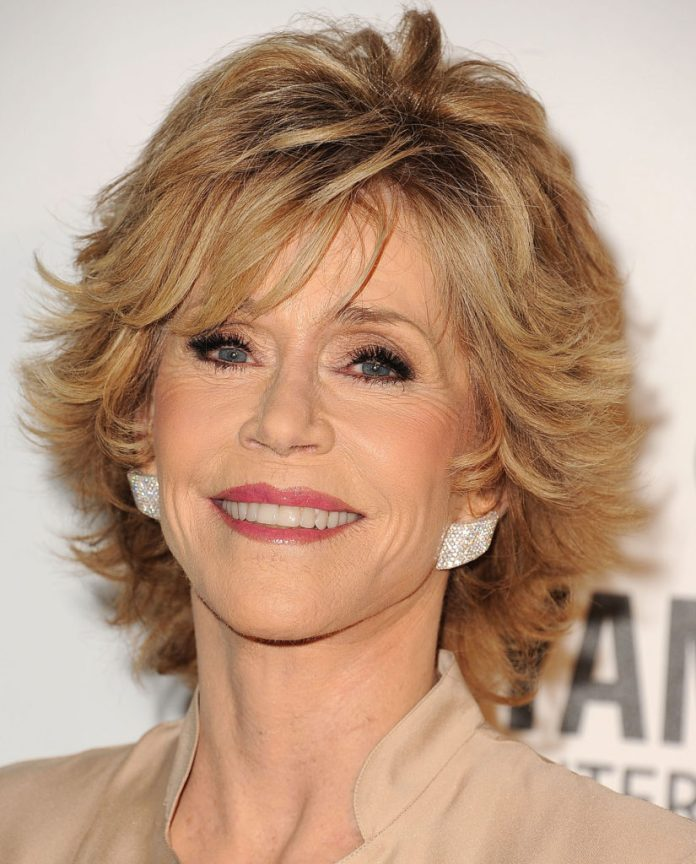 Jane Fonda's Short Haircut
