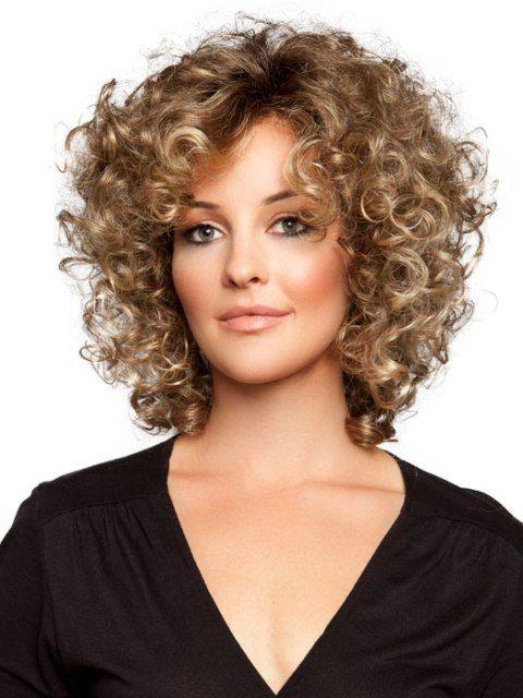 Short Layered curls