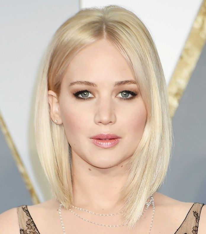 Asymmetrical Blonde Bob