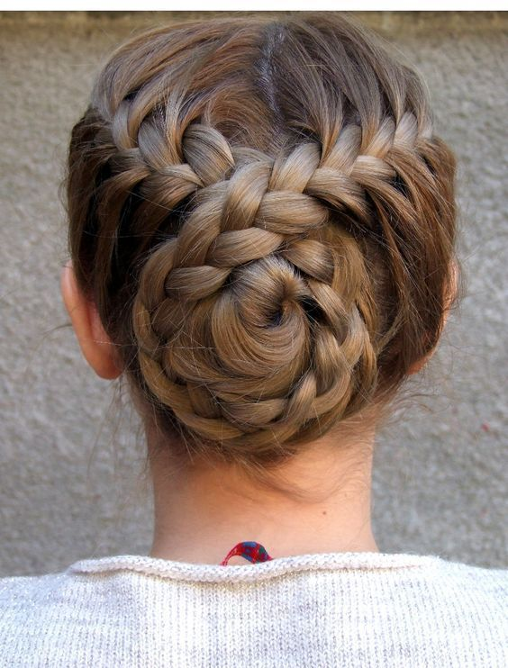 Braided Twisted Bun