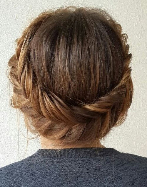 Fishtail Crown Braided Updo