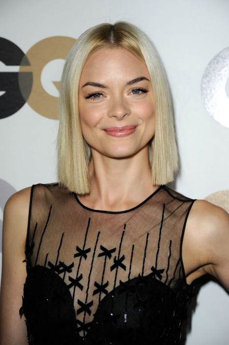 Jaime King's Platinum Blunt Blonde Bob