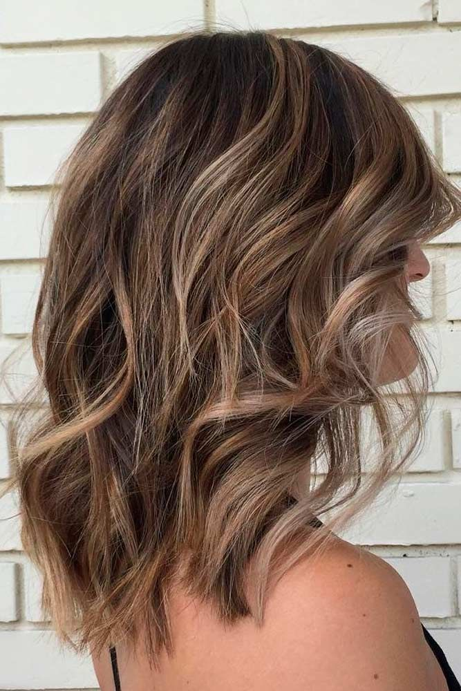 Medium Length Beachy Waves