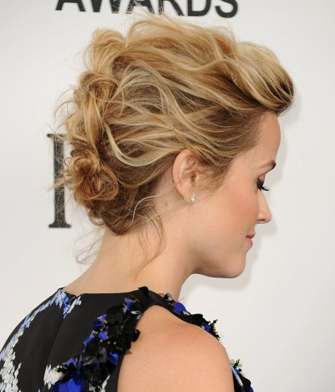Messy Pinned Updo