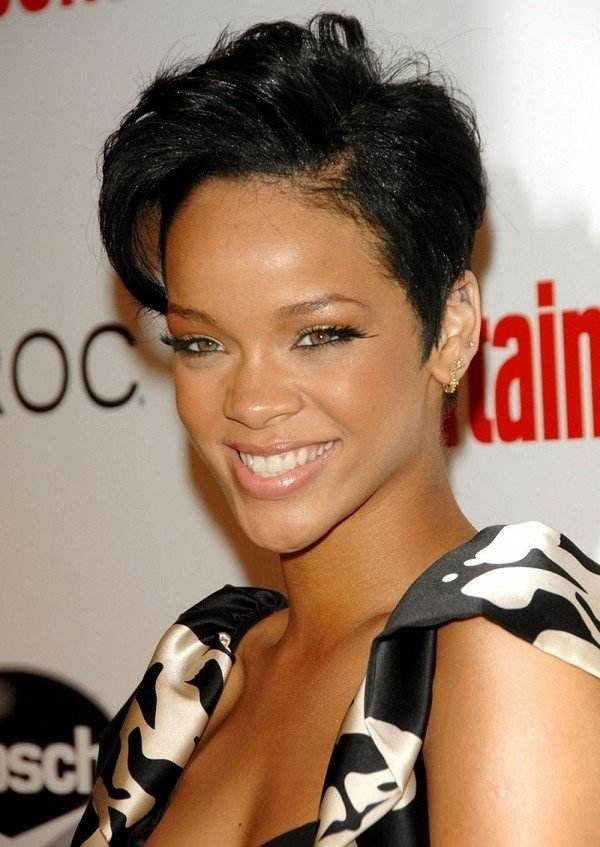 Short Edgy Hairstyle for Black Women