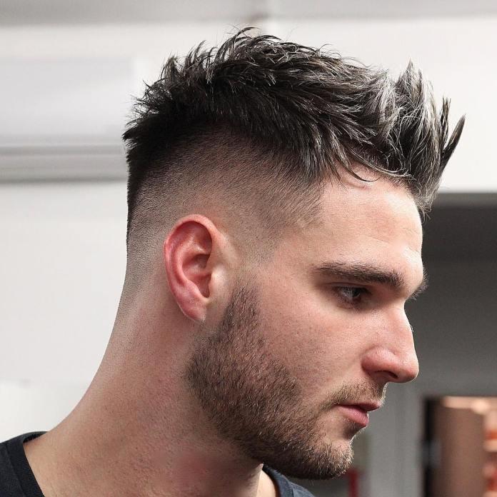 Spiky Quiff Haircut
