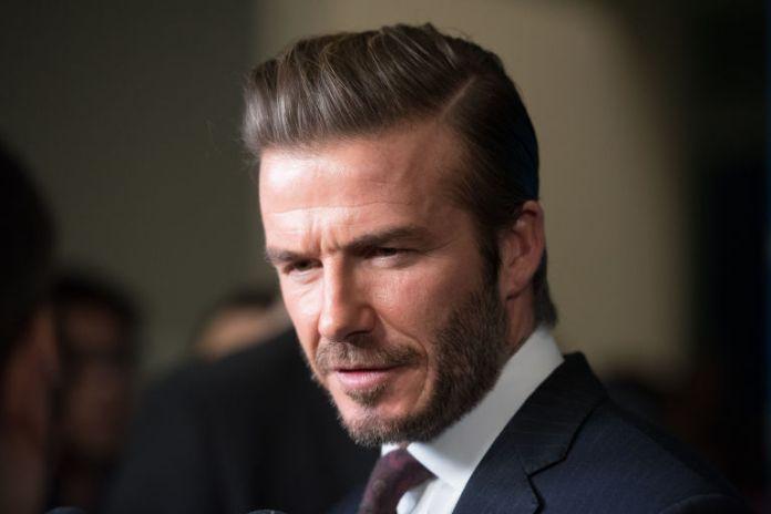 Stylish David Beckham's Haircut