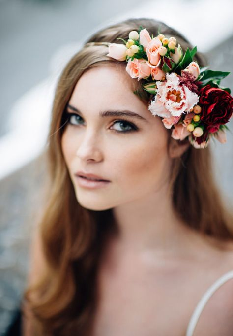 Whimsical Flower Crown