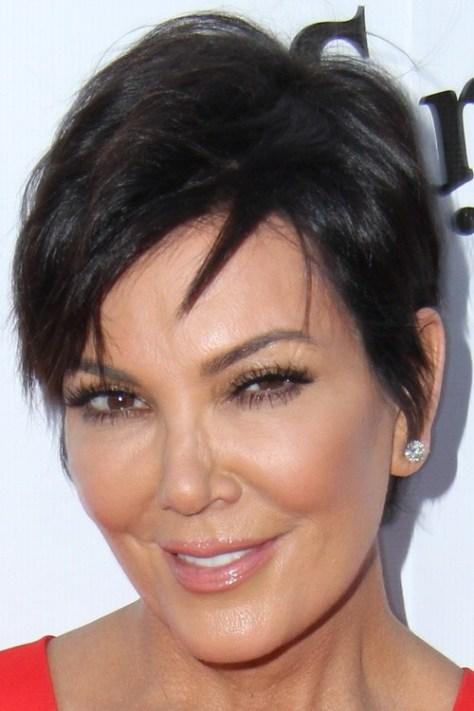 Short Haircut with Angled Bangs