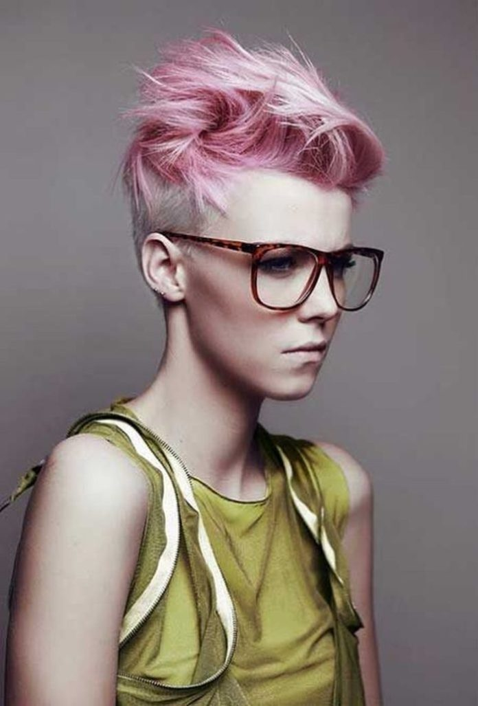 Edgy Short Punk Hairstyle