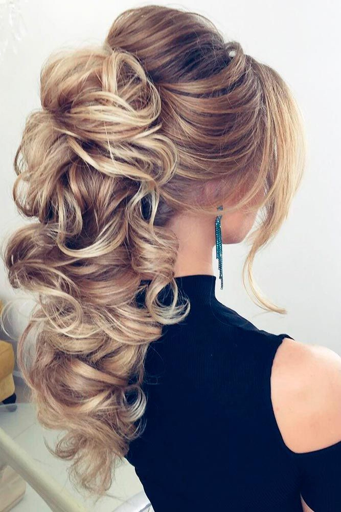 Messy Long Wavy Hairstyle