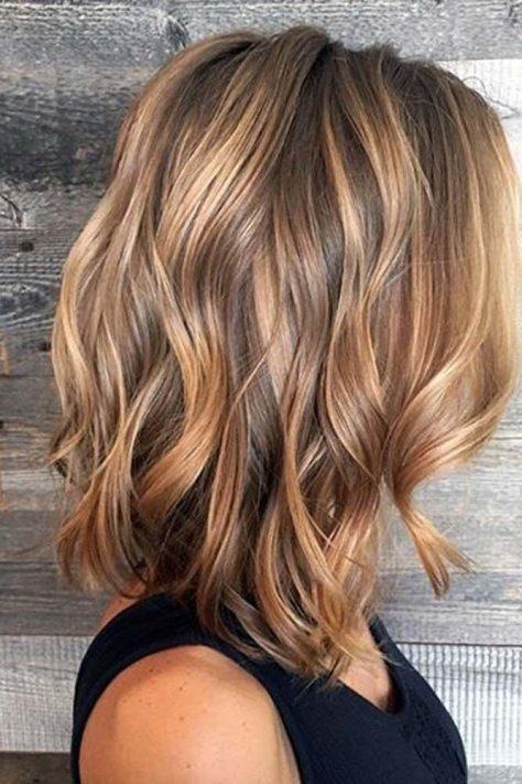 Caramel Balayage Hair Color