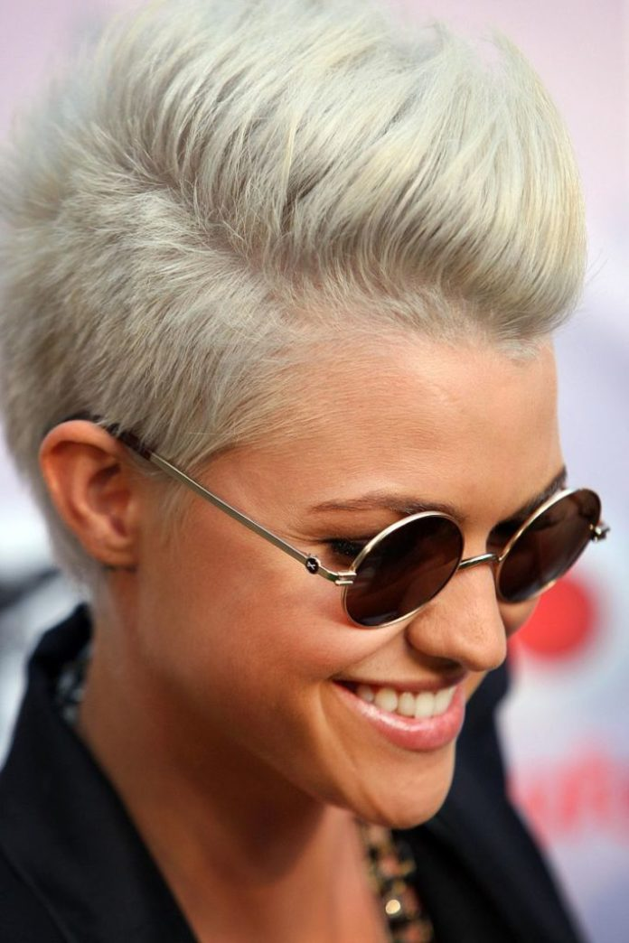 Short Edgy Funky Hairstyle
