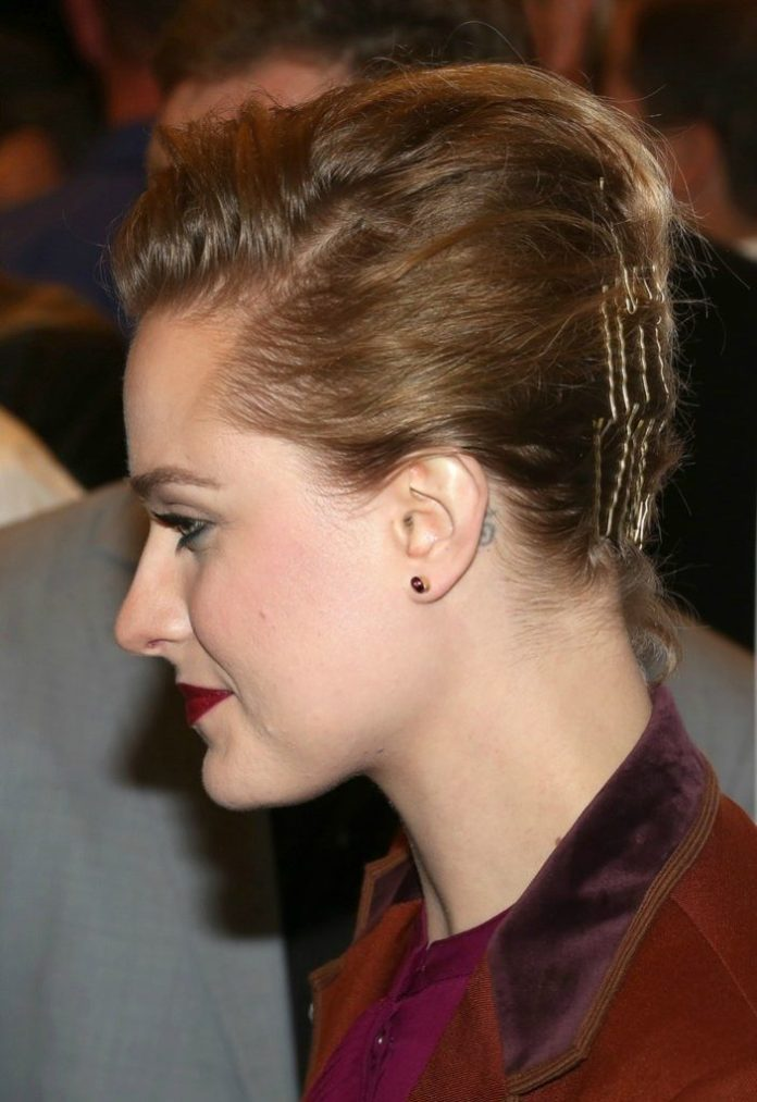 Pinned Up Pixie Updo