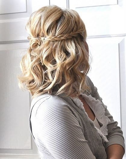 Medium Length Boho Hairstyle with Waves