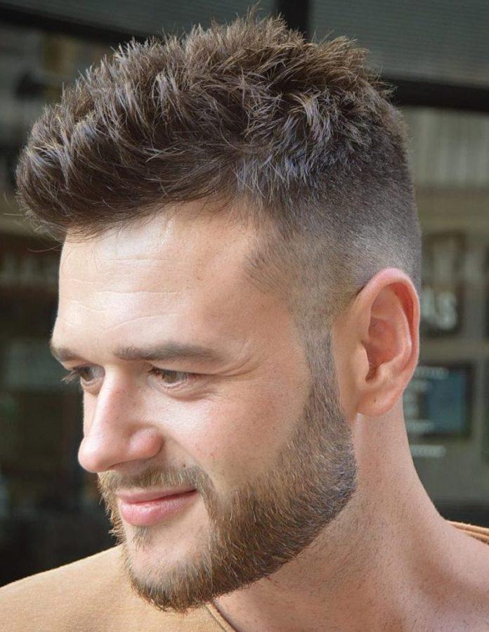 Easy Short Hairstyle for Men