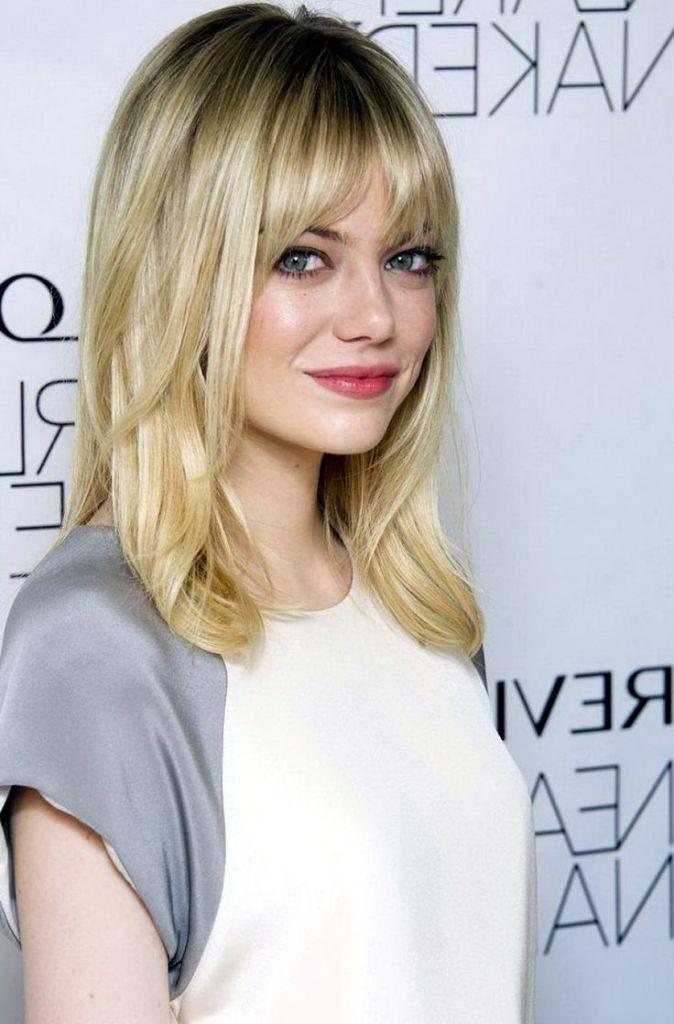 Medium Black To Blonde Hairstyles