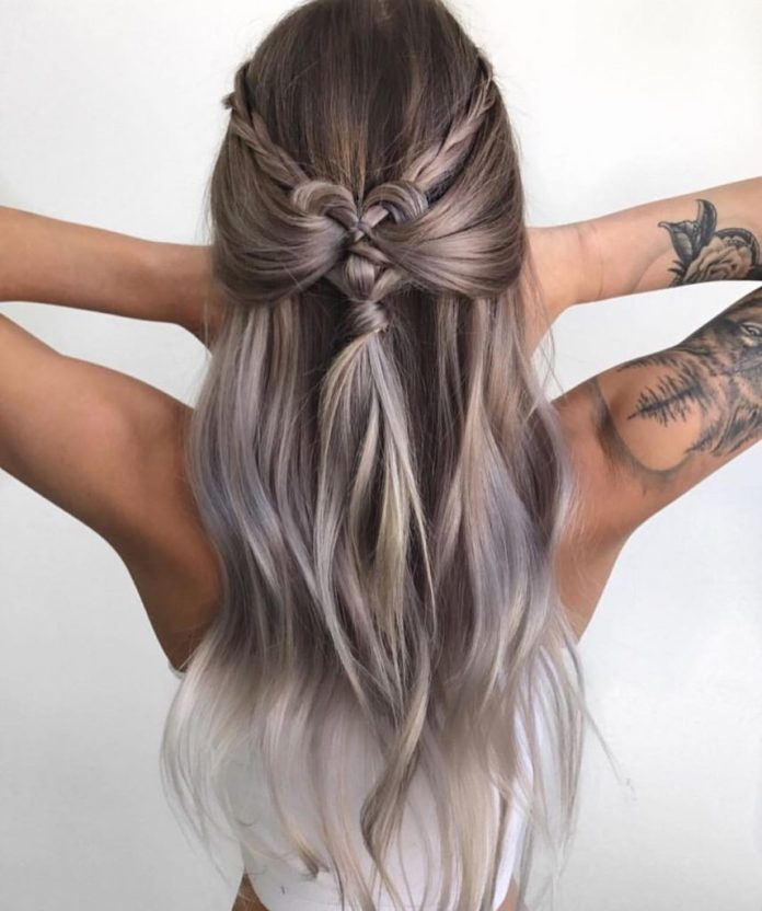 Bohemian Ombre Hairstyle