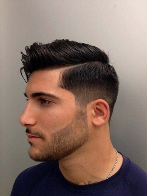 Fade Side Part Haircut